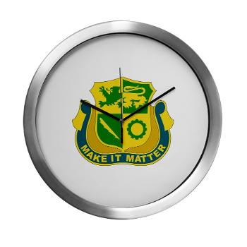 1ADDSTB - M01 - 03 - DUI - Division - Special Troops Battalion - Modern Wall Clock