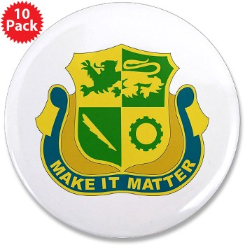 "1ADSTBI - M01 - 01 - DUI - Div - Special Troops Bn 3.5"" Button (10 pack)"