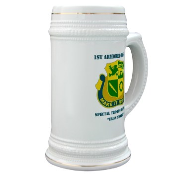 1ADSTBI - M01 - 02 - DUI - Div - Special Troops Bn with Text Stein