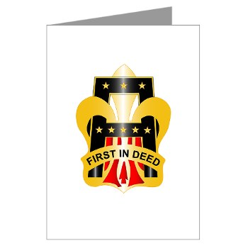 1A - M01 - 02 - DUI - First United States Army Greeting Cards (Pk of 10)