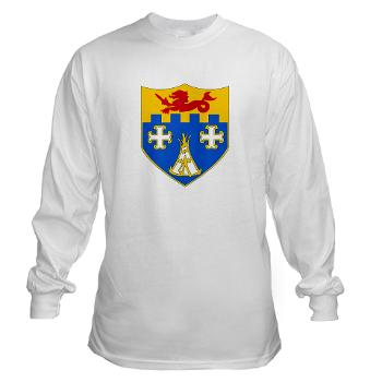 1B12IR - A01 - 03 - DUI - 1st Bn - 12th Infantry Regt - Long Sleeve T-Shirt