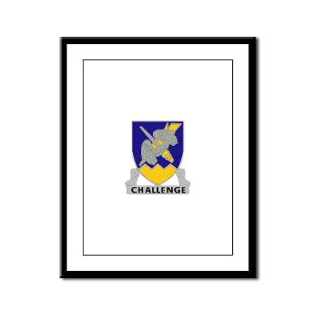 1B158AR - M01 - 02 - DUI - 1st Battalion,158th Aviation Regiment - Framed Panel Print