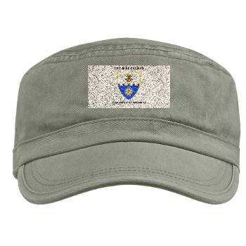 1B22IR - A01 - 01 - DUI - 1st Bn - 22nd Infantry Regt with Text - Military Cap