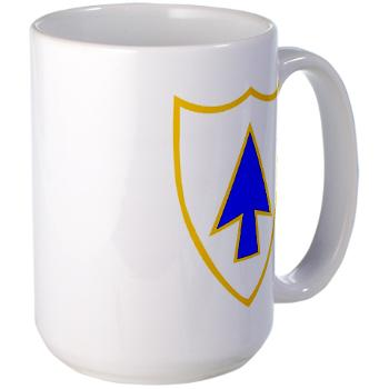1B26IR - M01 - 03 - DUI - 1st Bn - 26th Infantry Regt - Large Mug