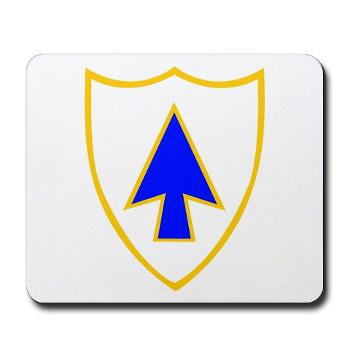 1B26IR - M01 - 03 - DUI - 1st Bn - 26th Infantry Regt - Mousepad