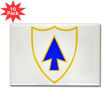1B26IR - M01 - 01 - DUI - 1st Bn - 26th Infantry Regt - Rectangle Magnet (10 pack)