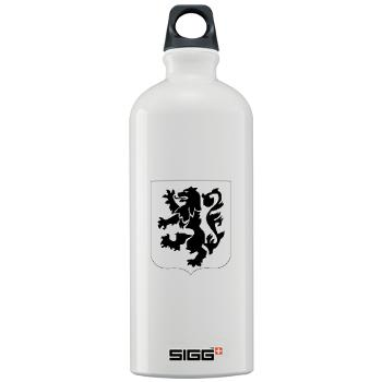 1B28IR - M01 - 03 - DUI - 1st Bn - 28th Infantry Regiment Sigg Water Bottle 1.0L