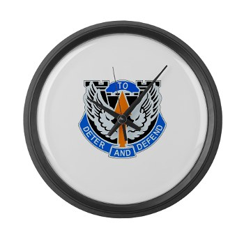 1B291AR - M01 - 03 - DUI - 1st Battalion - 291st Aviation Regiment Large Wall Clock