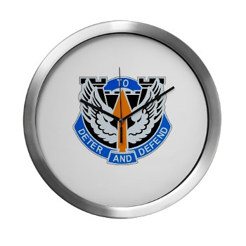1B291AR - M01 - 03 - DUI - 1st Battalion - 291st Aviation Regiment Modern Wall Clock