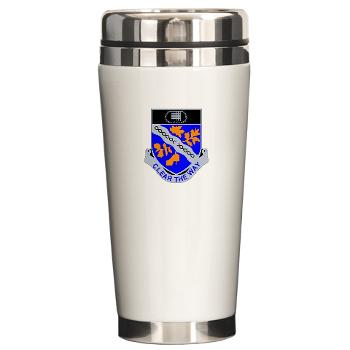 1B307R - M01 - 03 - DUI - 1st Battalion 307th Regiment - Ceramic Travel Mug
