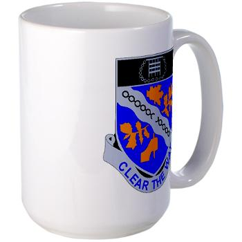 1B307R - M01 - 03 - DUI - 1st Battalion 307th Regiment - Large Mug