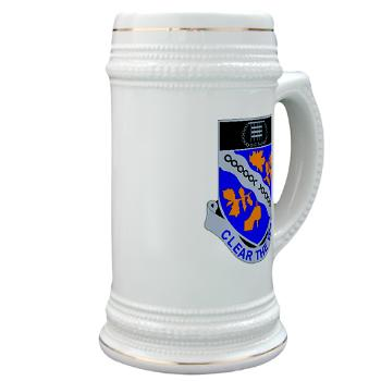1B307R - M01 - 03 - DUI - 1st Battalion 307th Regiment - Stein