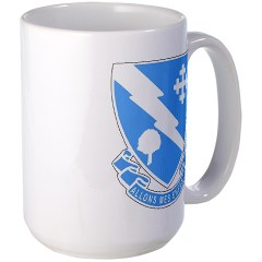 1B310R - M01 - 03 - DUI - 1st Bn - 310th Regt Large Mug