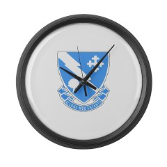 1B310R - M01 - 03 - DUI - 1st Bn - 310th Regt Large Wall Clock