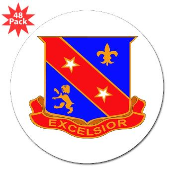 "1B322RLS - M01 - 01 -DUI - 1st Bn - 322nd Regt (LS) - 3"" Lapel Sticker (48 pk)"