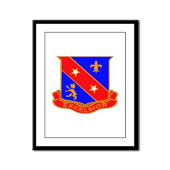 1B322RLS - M01 - 02 -DUI - 1st Bn - 322nd Regt (LS) - Framed Panel Print