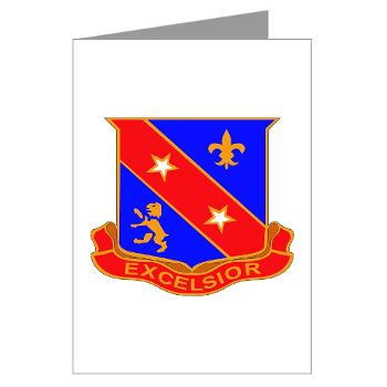 1B322RLS - M01 - 02 -DUI - 1st Bn - 322nd Regt (LS) - Greeting Cards (Pk of 10)