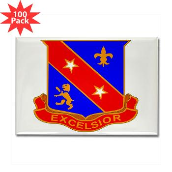 1B322RLS - M01 - 01 -DUI - 1st Bn - 322nd Regt (LS) - Rectangle Magnet (100 pack)
