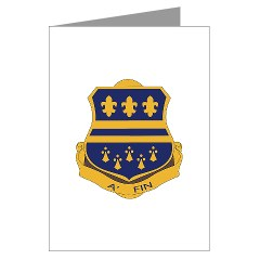 1B335I - M01 - 02 - DUI - 1st Battalion - 335th Infantry Greeting Cards (Pk of 10)