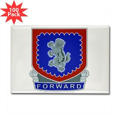 1B340IRTS - M01 - 01 - DUI - 1st Bn - 340th Regt(CS/CSS) Rectangle Magnet (100 pack)