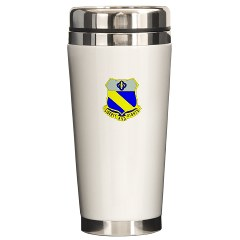1B349R - M01 - 03 - DUI - 1st Battalion - 349th Regiment Ceramic Travel Mug