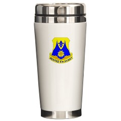 1B356R - M01 - 03 - DUI - 1st Bn - 356th Regt(LSB) - Ceramic Travel Mug