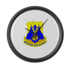 1B356R - M01 - 03 - DUI - 1st Bn - 356th Regt(LSB) - Large Wall Clock