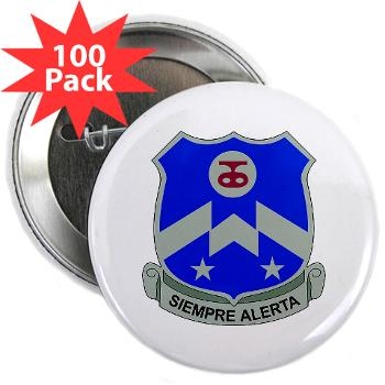 "1B357IR - M01 - 01 - DUI - 1st Battalion - 357th Infantry Regiment - 2.25"" Button (100 pack)"