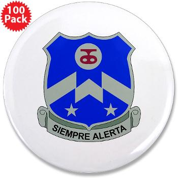 "1B357IR - M01 - 01 - DUI - 1st Battalion - 357th Infantry Regiment - 3.5"" Button (100 pack)"