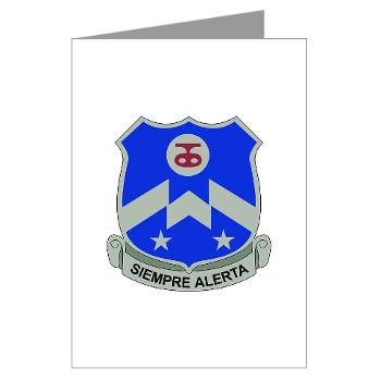 1B357IR - M01 - 02 - DUI - 1st Battalion - 357th Infantry Regiment - Greeting Cards (Pk of 10)