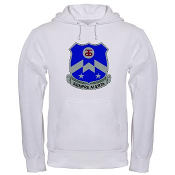 1B357IR - A01 - 03 - DUI - 1st Battalion - 357th Infantry Regiment - Hooded Sweatshirt
