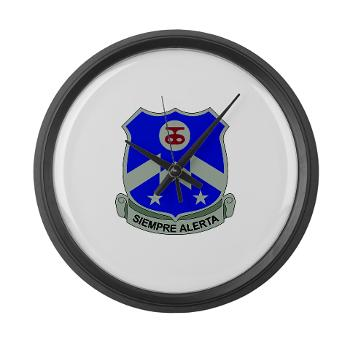 1B357IR - M01 - 03 - DUI - 1st Battalion - 357th Infantry Regiment - Large Wall Clock