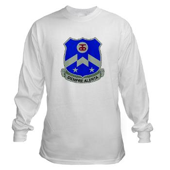1B357IR - A01 - 03 - DUI - 1st Battalion - 357th Infantry Regiment - Long Sleeve T-Shirt