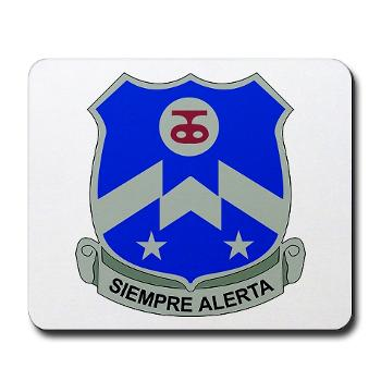1B357IR - M01 - 03 - DUI - 1st Battalion - 357th Infantry Regiment - Mousepad