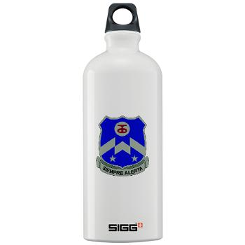 1B357IR - M01 - 03 - DUI - 1st Battalion - 357th Infantry Regiment - Sigg Water Bottle 1.0L