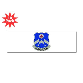 1B357IR - M01 - 01 - DUI - 1st Battalion - 357th Infantry Regiment - Sticker (Bumper 10 pk)