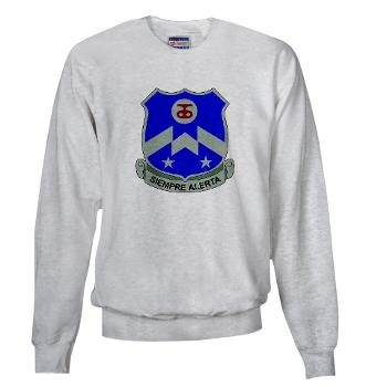 1B357IR - A01 - 03 - DUI - 1st Battalion - 357th Infantry Regiment - Sweatshirt