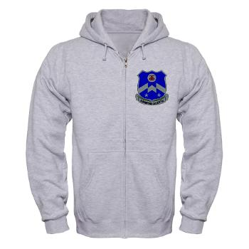 1B357IR - A01 - 03 - DUI - 1st Battalion - 357th Infantry Regiment - Zip Hoodie