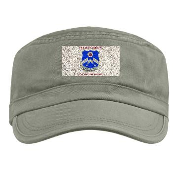 1B357IR - A01 - 01 - DUI - 1st Battalion - 357th Infantry Regiment with Text - Military Cap