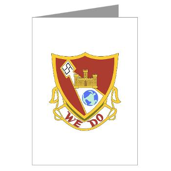 1B361R - M01 - 02 - DUI - 1st Bn - 361st Engineer Regt - Greeting Cards (Pk of 10)