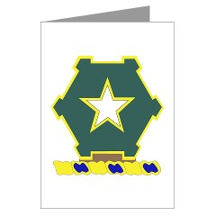 1B36IR - M01 - 02 - DUI - 1st Battalion - 36th Infantry Regiment Greeting Cards (Pk of 10)