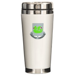 1B37AR - M01 - 03 - DUI - 1st Battalion - 37th Armor Regiment Ceramic Travel Mug