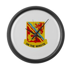 1B37FAR - M01 - 03 - DUI - 1st Bn - 37th FA Regt - Large Wall Clock