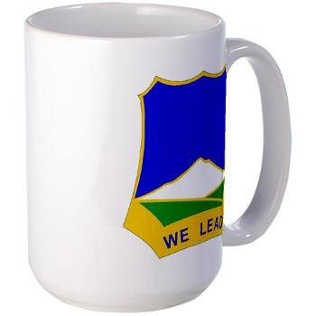 1B382RLSB - M01 - 03 - DUI - 1st Battalion - 382nd Regiment (LSB) - Large Mug