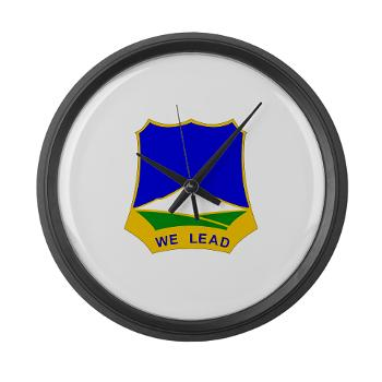 1B382RLSB - M01 - 03 - DUI - 1st Battalion - 382nd Regiment (LSB) - Large Wall Clock