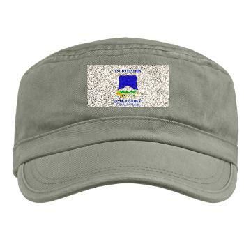 1B382RLSB - A01 - 01 - DUI - 1st Battalion - 382nd Regiment (LSB) with Text - Military Cap