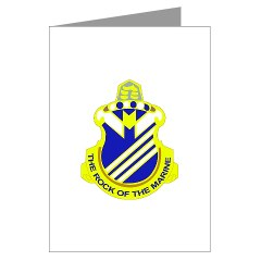 1B38IR - M01 - 02 - DUI - 1st Battalion - 38th Infantry Regiment Greeting Cards (Pk of 10)