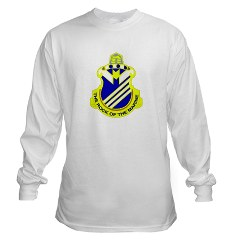 1B38IR - A01 - 03 - DUI - 1st Battalion - 38th Infantry Regiment Long Sleeve T-Shirt