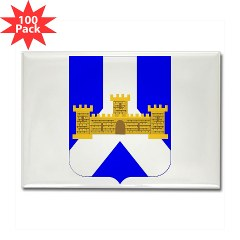 1B393IR - M01 - 01 - DUI - 1st Battalion - 393rd Infantry Regiment Rectangle Magnet (100 pack)
