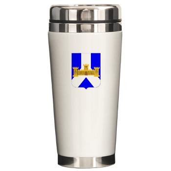 1B393RI - M01 - 03 - DUI - 1st Battalion - 393rd Infantry Regiment - Ceramic Travel Mug